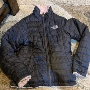 Girls The North Face Mossbud reversible coat M 7/8